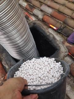 Rénovation de conduit de cheminée avec le système BIAFEU (3)