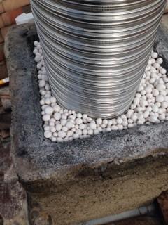 Rénovation de conduit de cheminée avec le système BIAFEU (4)