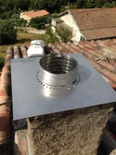 Rénovation de conduit de cheminée avec le système BIAFEU (6)