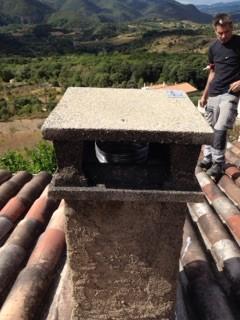 Rénovation de conduit de cheminée avec le système BIAFEU (7)